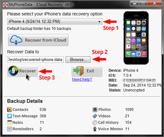 iCloud Data Recovery